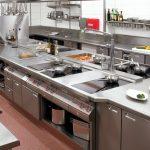 جریان و بازده آشپزخانه صنعتی