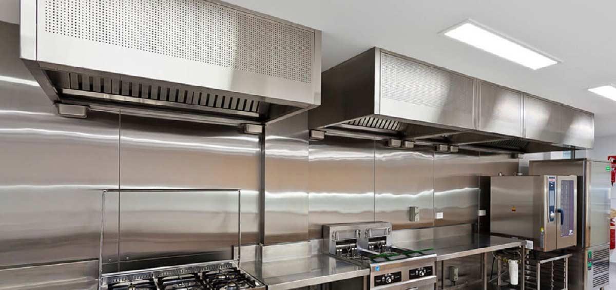 طراحی آشپزخانه صنعتی - در طراحی آشپزخانه صنعتی چه نکاتی را رعایت کنیم؟