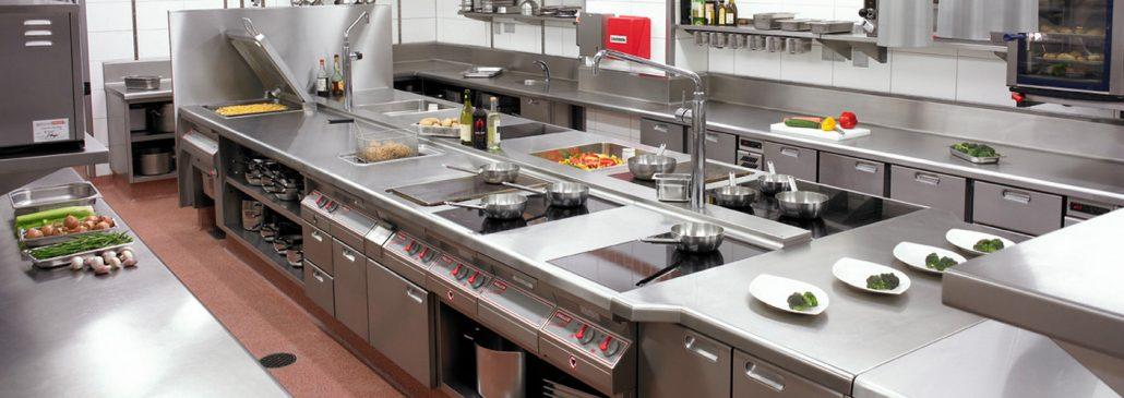 چیدمان آشپزخانه صنعتی - چیدمان آشپزخانه صنعتی | انواع مدل چیدمان آشپزخانه صنعتی